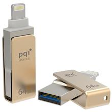 PQI i-Connect mini OTG USB 3.0 Flash Memory 64GB